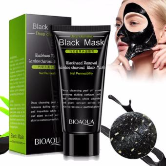 Bioaqua Deep Cleansing Black Mask Blackhead Removal Bamboo Charcoal - 1 Pc