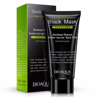 Bioaqua Deep Cleansing Black Mask Blackhead Removal Bamboo Charcoal