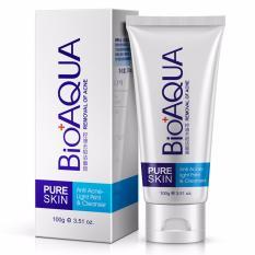 Bioaqua Pure Skin Cleanser Sabun Cuci Muka / Wajah Cleansing Acne Jerawat - 100gr