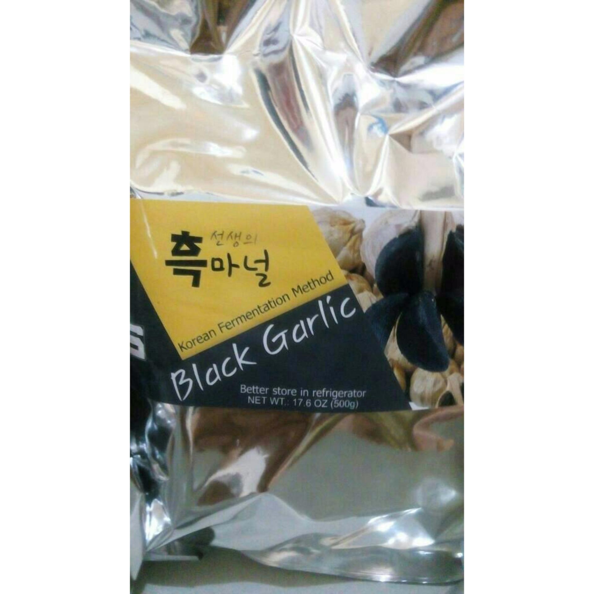 Black Garlic Bawang Hitam Jantan Putih Lanang 250gr 500 Gram 65 Butir Organic Non Alcoholic 1 Kg Sonsaeng