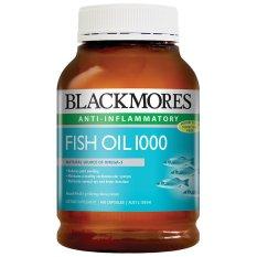 Blackmores Fish Oil 1000mg 400 kapsul