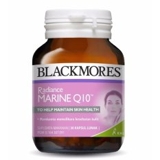 Blackmores Radiance Marine Q10 BPOM Kalbe 30's - Vitamin Kulit, Kesehatan Kulit, Suplemen Kulit, Anti Aging, Anti Penuaan Dini, Mengecilkan Pori - Pori