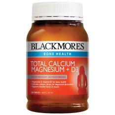 Blackmores Total Calcium Magnesium + D3 - 200 Tablets