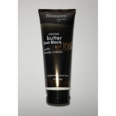 Blossom Sunblock Cocoa Butter SPF 100 with Body Cream