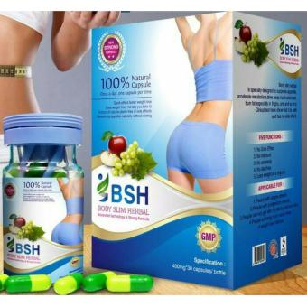 Gambar Body Slim Herbal Kapsul BSH Pelangsing