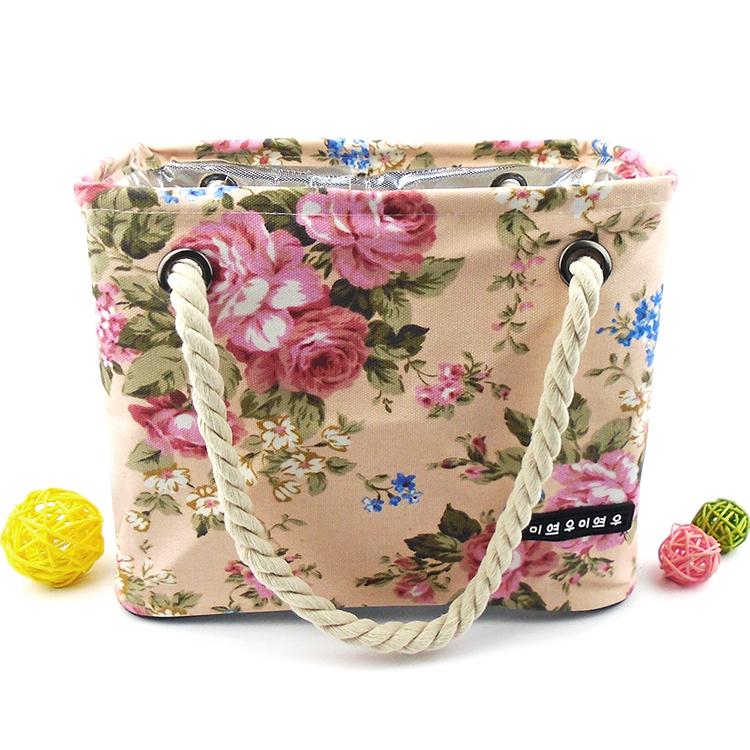 Bunga tahan air saku kapasitas besar mencuci tas