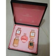 (CHAT OWNER) Parfum Miniatur Chanel Gift Set Isi 5 Pcs