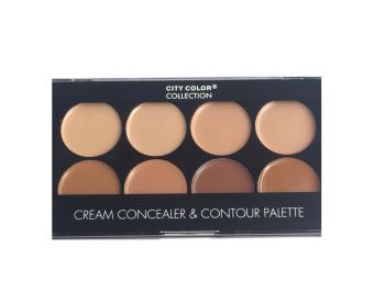 City Color Cream Concealer And Contour Palette - Original