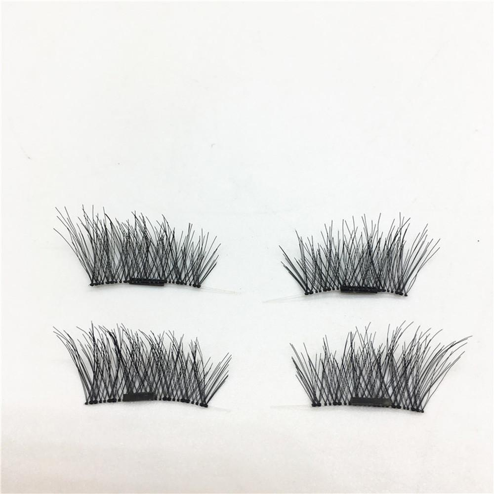 Classic 3D Magnetic False Eyelashes Extension Tools Natural Makeup- intl .