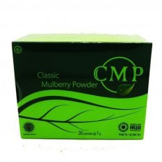 CMP Chlorophyll Mint Powder Minuman Herbal untuk Diet dan Kesehatan - 30 Pcs