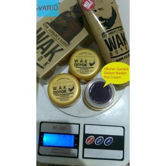Harga cream krim wak doyok wakdoyok rambut jambang sample jar original 100% Murah