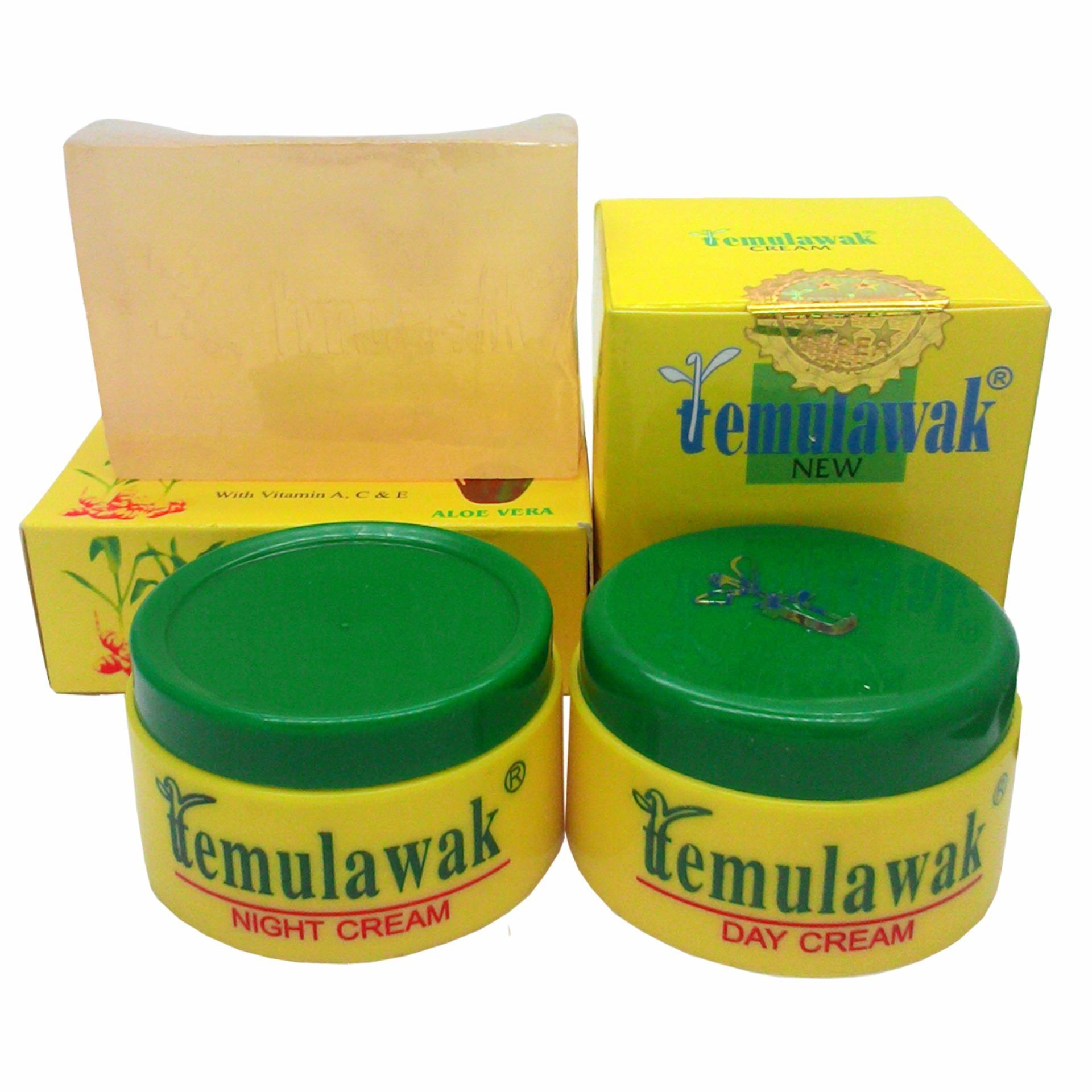 Cream Temulawak Ori - Paket Krim Temulawak Asli Hologram Gold - 1 Paket