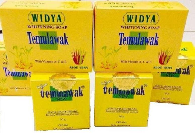 Cream Temulawak Original Gold Hologram + Sabun