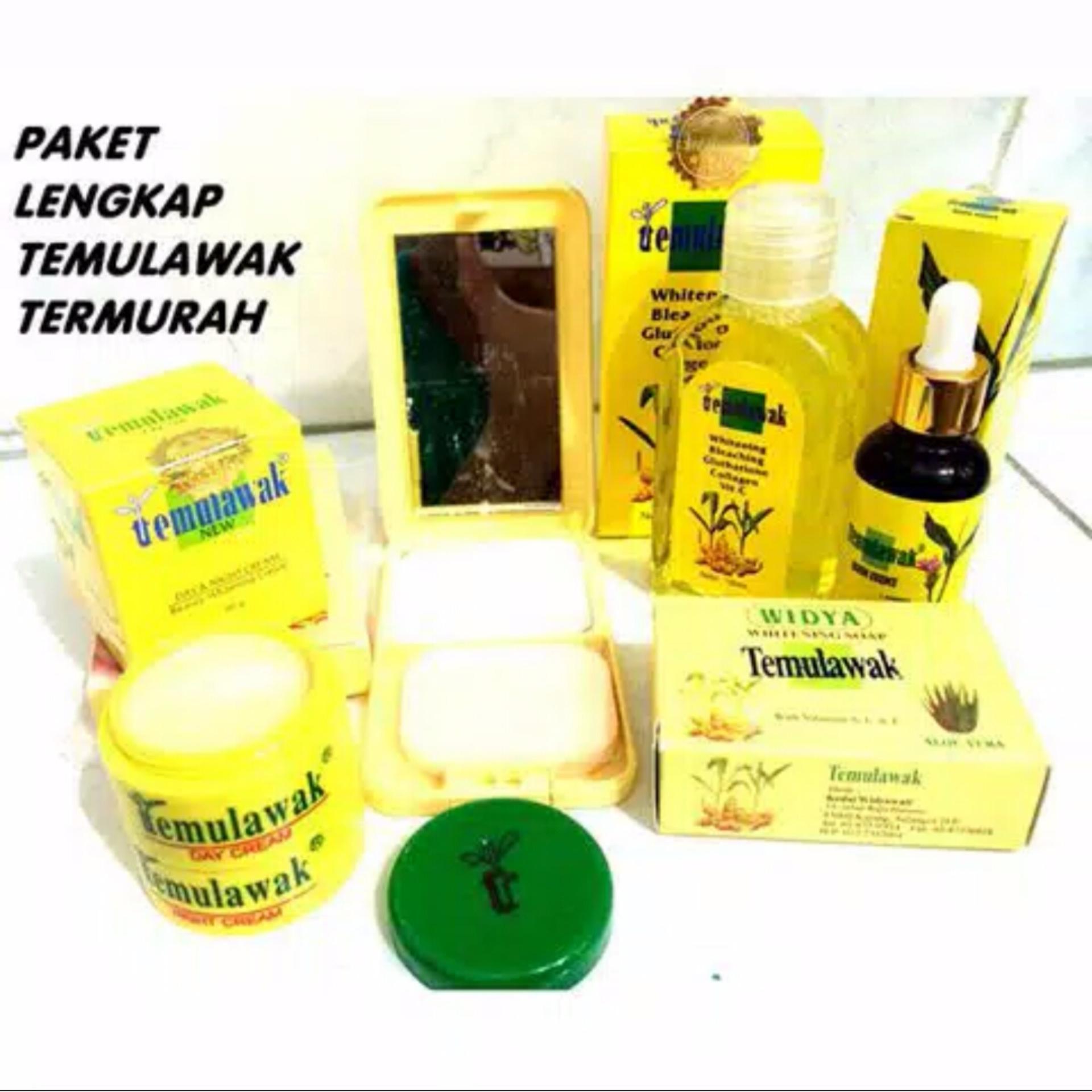 Cream Temulawak Original Holo Super - Paket Super Komplit ( Cream, Sabun, Toner,