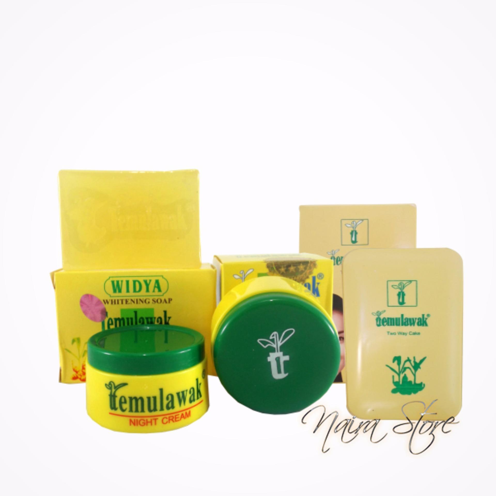 Cream Temulawak Original Hologram Super- Paket Komplit ( Cream, Sabun dan Bedak )