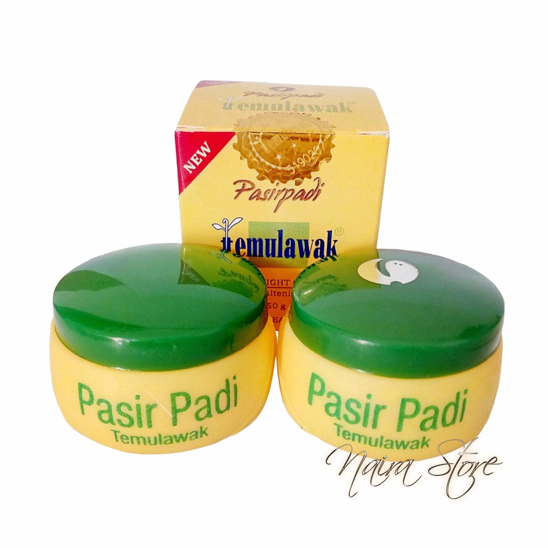 Pelacakan Harga Cream Temulawak Pasir Padi Original Bpom Krim Bedak Asli Siang Dan Malam
