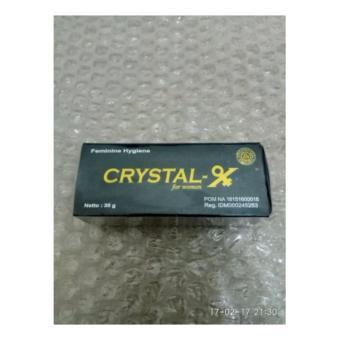 Crystal X Asli Resmi PT Nasa  Solusi Kewanitaan, Keputihan, Program Hamil, Nyeri Haid, Rapet