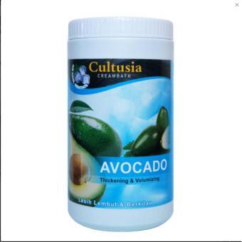 Harga Cultusia Creambath Avocado 1000 Ml  Perawatan Rambut Original Murah