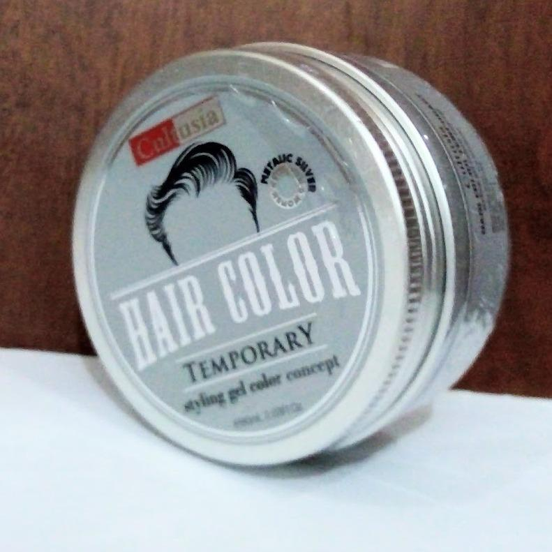 Cultusia POMADE Hair Color 80g - metalic silver