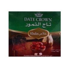 Date Crown Kurma Arab (Khalas)  Netto - 1kg