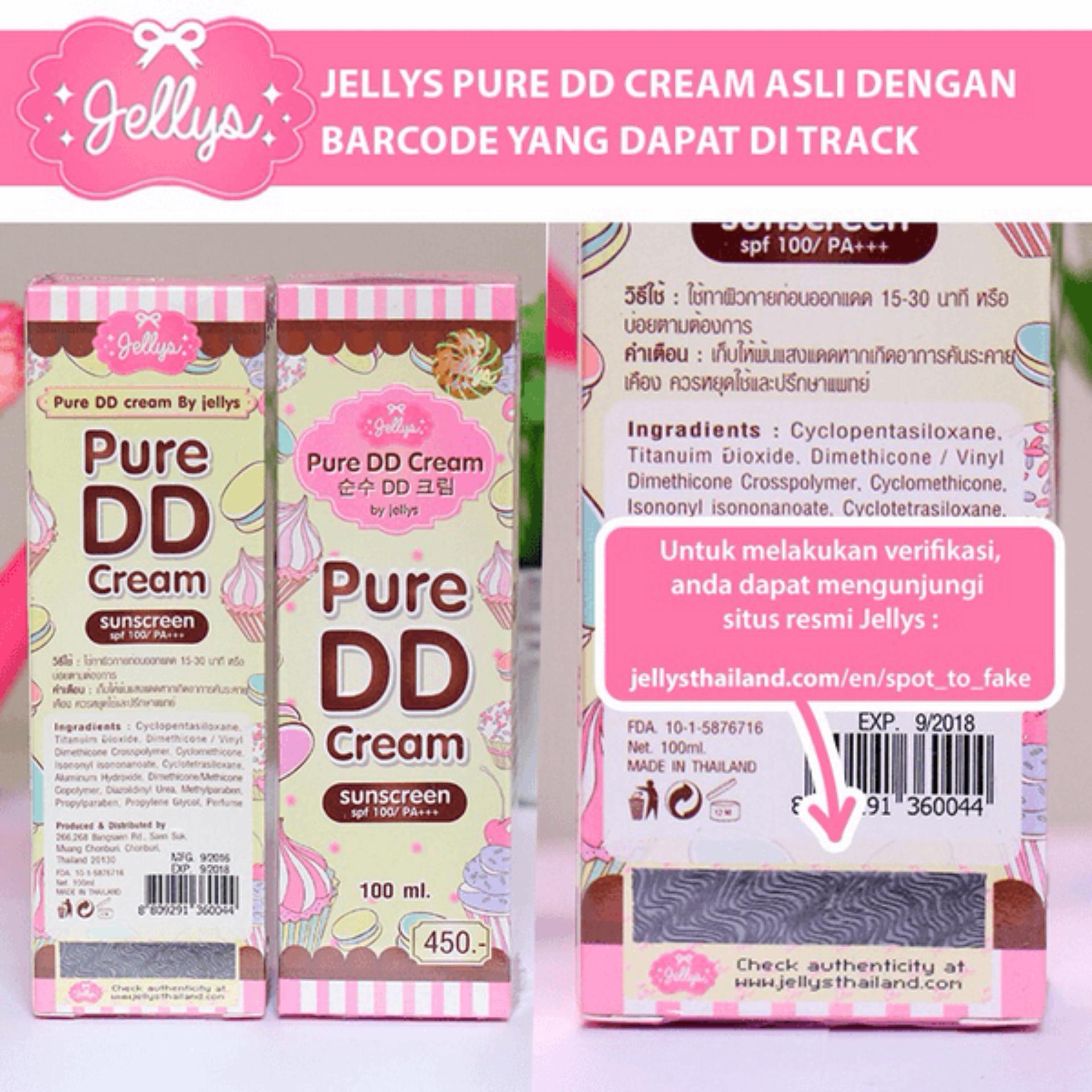 ... DD Cream Pure By Jellys / Original Thailand 100% ...