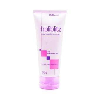Gambar DeBiuryn HoliBlitz Whitening Bleaching Cream Krim Pemutih Ketiak Underarm dan Selangkangan ...