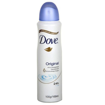 Dove Original Deodorant Spray Biru - 150ml