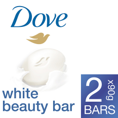 Dove White Beauty Bar 2X90G
