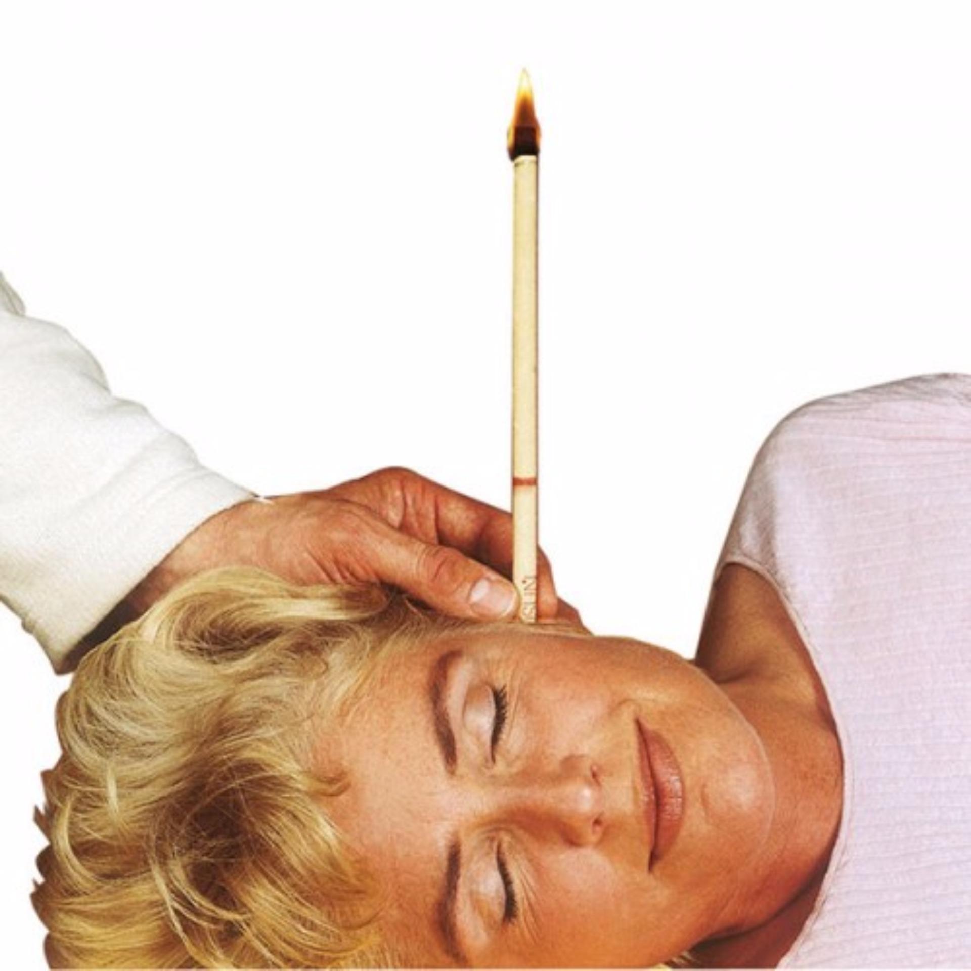 ... Ear Candle Pembersih Telinga -4 Pasang Warna-Warni ...