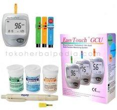 Easy Touch GCU 3 IN 1 Untuk Cek Gula Darah, Kolesterol dan Asam Urat
