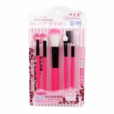 EELIC KMU-9035 PINK Kuas Make up 1 Set 5 Pcs