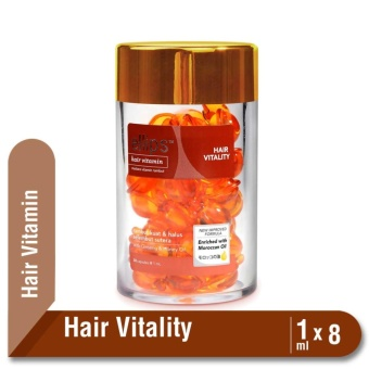 Harga Ellips Hair Vitamin Moroccan Oil Hair Vitality Jar 50 x 1 ml Murah