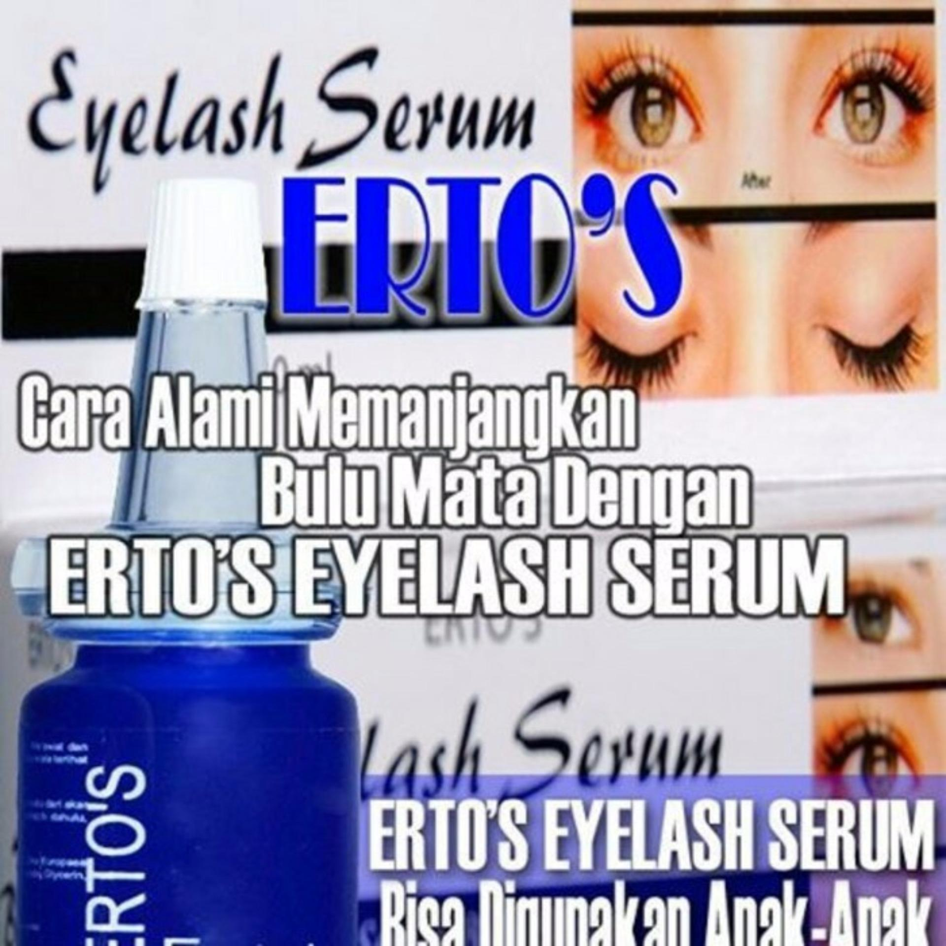 Cari Bandingkan Ertos Eyelash Serum Pelentik Bulu Mata Harga Penawaran Pelebat Vitamin