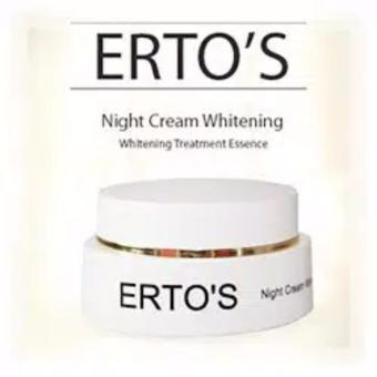 ERTOS Night Cream Whitening / pencerah dan pelembab ERTO'S