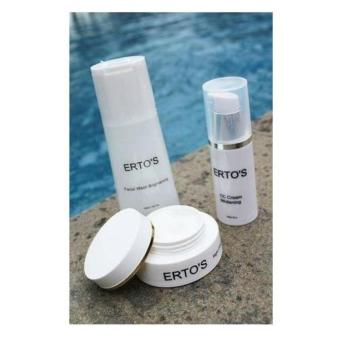 Ertos Whitening Paket (CC Cream+Night Cream+Facial Wash) - 2
