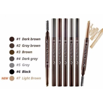 Etude House - Drawing Eye Brow #06 Black - 1Pc
