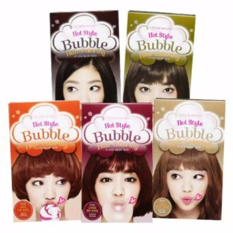 Harga Etude House Hot Style Bubble Hair Coloring Cat Rambut Pewarna Rambut – #BR03 Dark Choco Tone Down Murah