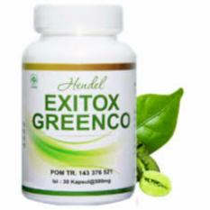 Exitox Greenco Asli 100‰ Herbal Pelangsing Cepat Exotix Green Coffee Bean