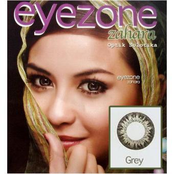 Eyezone Zahara Softlens - Grey + Gratis Lenscase