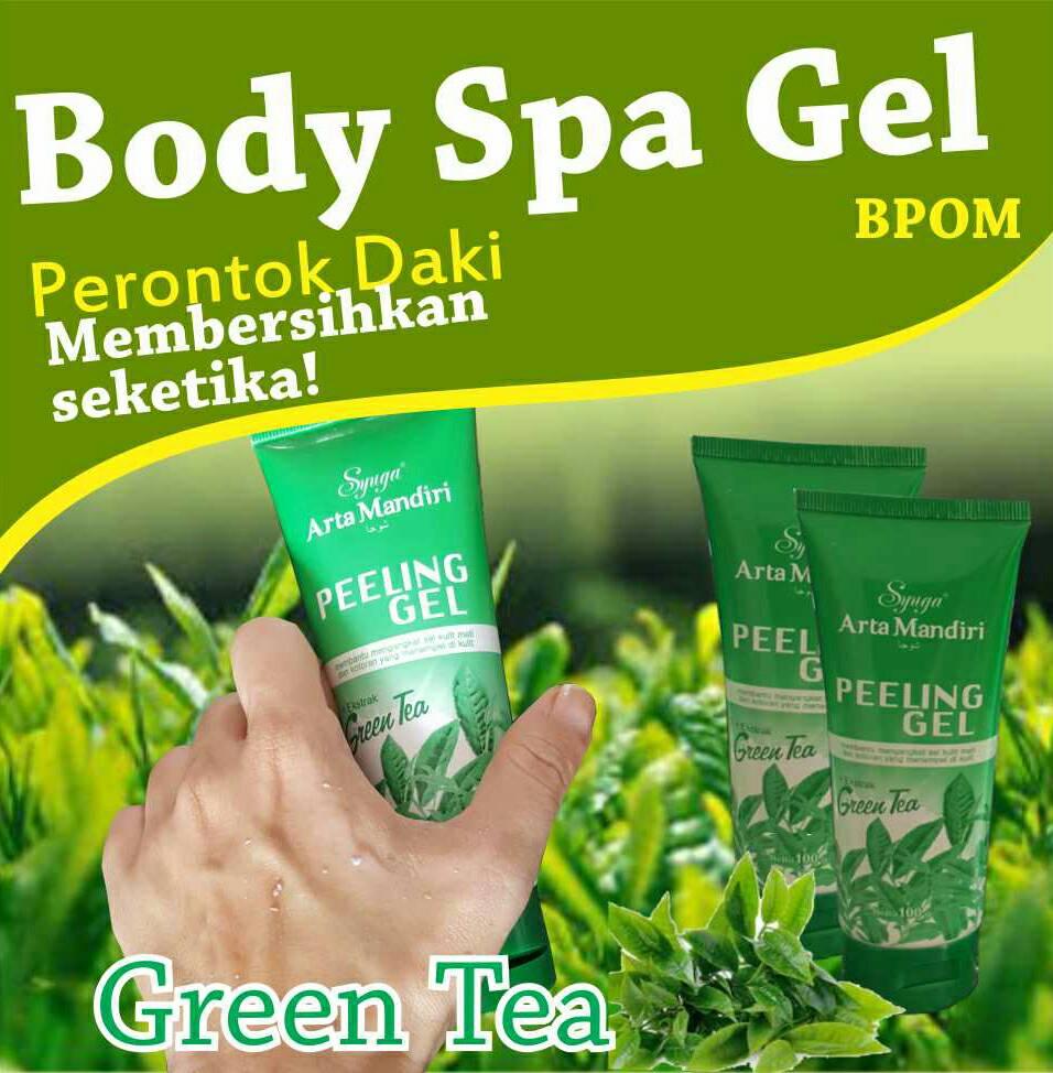 Bandingkan Toko Fashion Clrs Body Spa Gel Bpom Original Peeling Hanasui Exfoliating Banyak Varian Perontok Daki Green Tea
