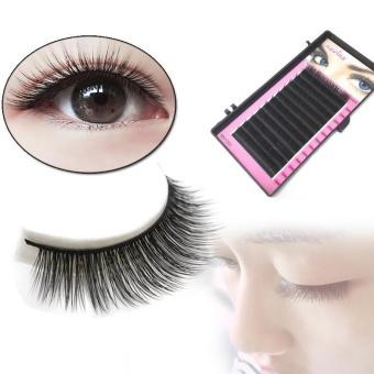 Harga Fashion Individual Silk Volume Lashes Eyelash Extensions 0.15mm CCurl – intl Murah