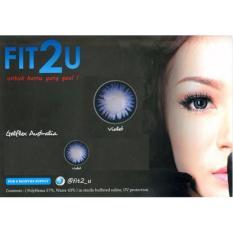 Fit2U Softlens - Violet + Gratis Lenscase