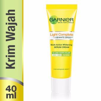 Garnier Light Complete White Speed Day Serum Cream UVA/UVB - 40 ml