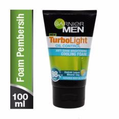 Garnier Men Turbolight Oil Control Cooling Foam - 100 ml