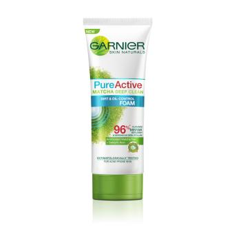 Gambar Produk Garnier Pure Active Matcha Set - Foam + Masker Clay Lengkap