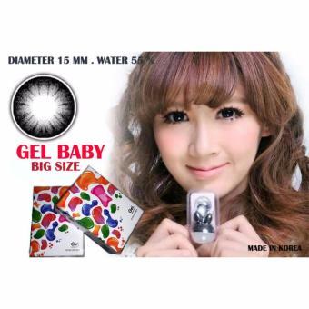 Harga Gel Ice Cream Softlens Black Free Lenscase + Cairan 60ml Terbaru klik gambar.