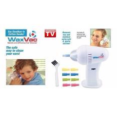 Glow shop Waxvac Pembersih Kotoran Telinga + Gratis BateraiIDR80000