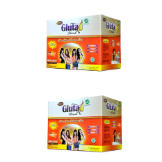 Gluta Drink Susu Nutrisi Pelangsing Rasa Strawberry Nutrisi Source · Gluta Drink Sachet 2 Box