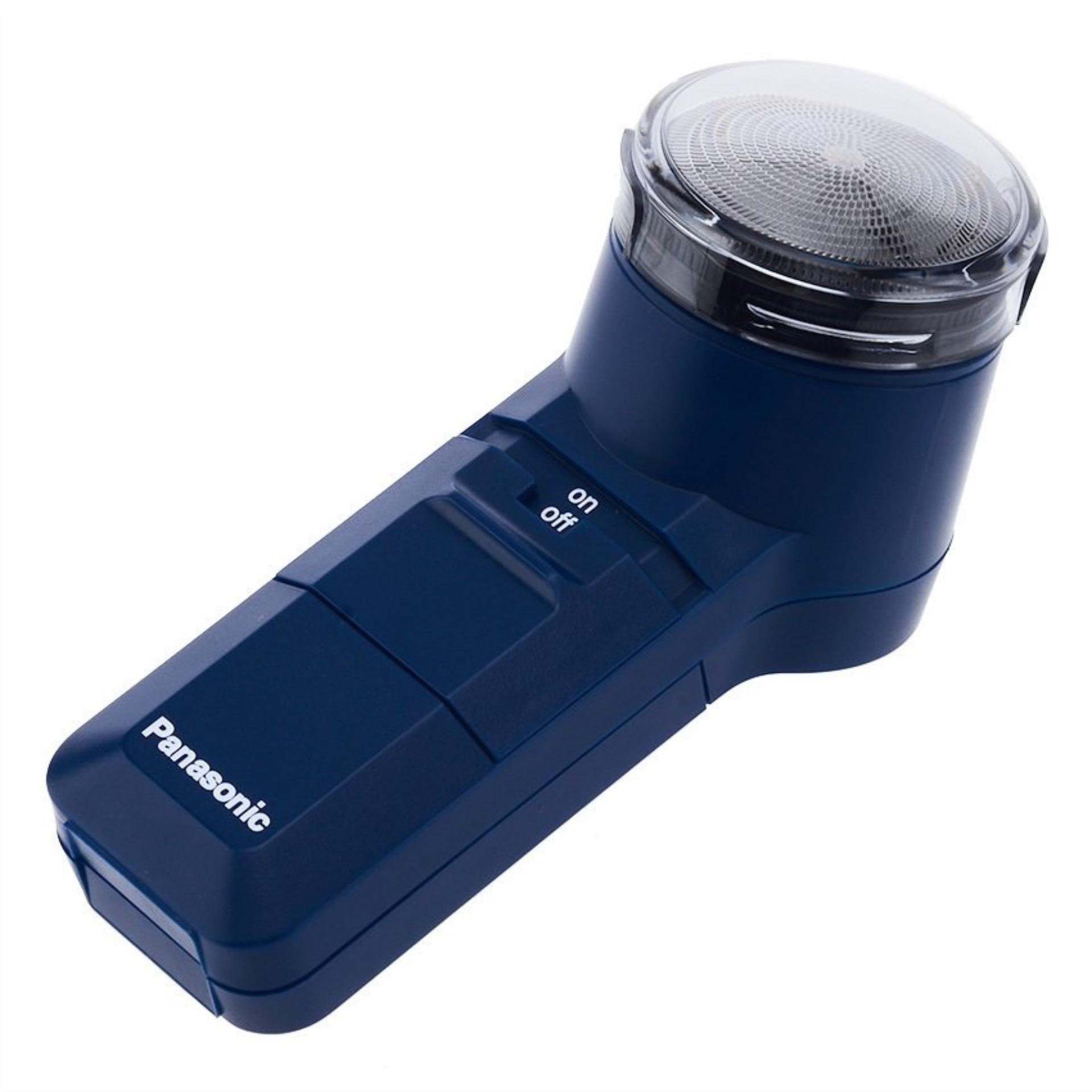 Gogo Grosir Panasonic Spinnet Battery Shaver ES 534 - Alat Cukur - Biru .