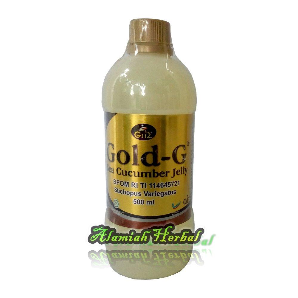 Gold G Jelly Gamat 500ml- sea Cucumber Jelly Ekstrak Gamat/Teripang Emas ...